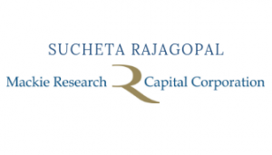 Suchet Rajagopal - Mackie Research Capital Corporation