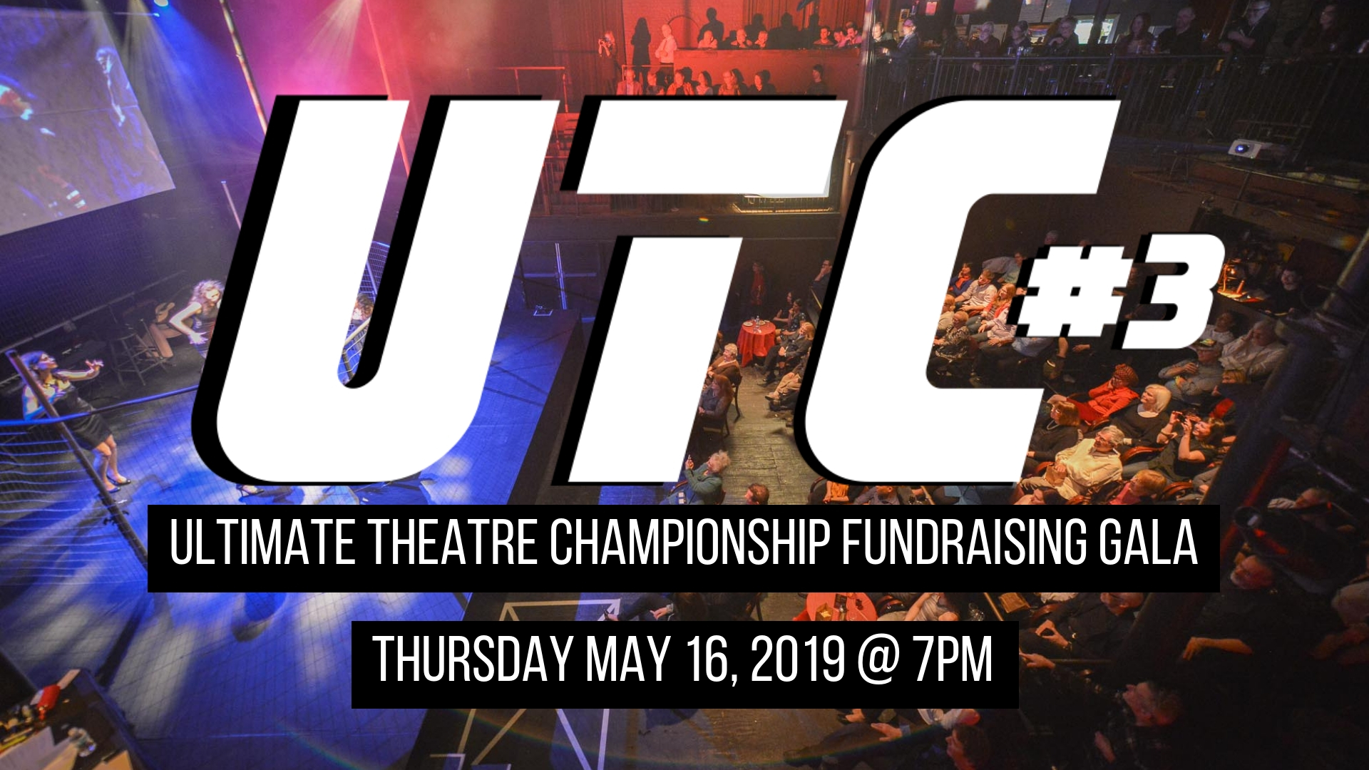 UTC Ultimate Theatre Championship Fundraiser Thursday May 16, 2019 at 7pm