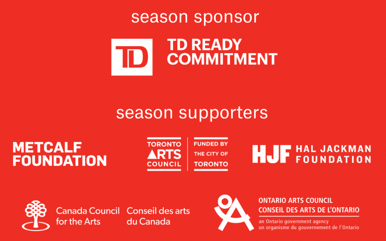 image show the logos of season sponsors and supporters.